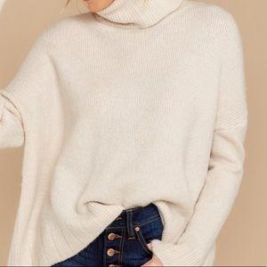 Comfy turtleneck sweater